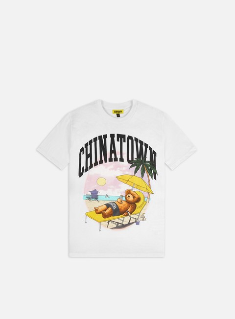 T-shirt a Manica Corta Chinatown Market Smiley Beach Bear T-shirt
