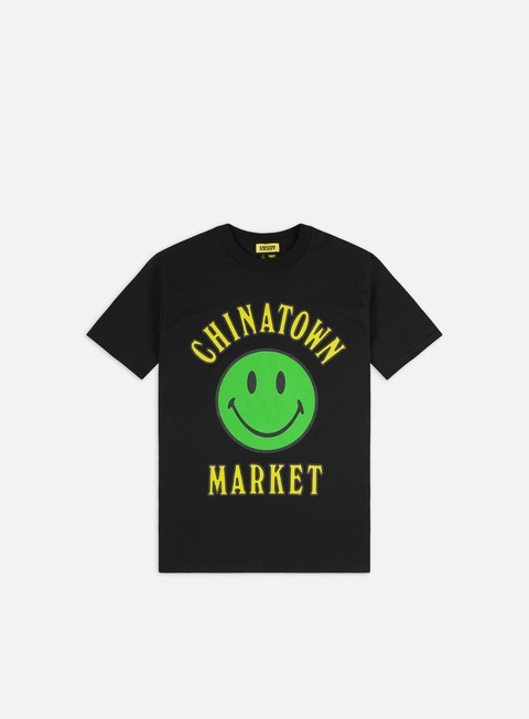 Sale Outlet Short Sleeve T-shirts Chinatown Market Smiley Multi T-shirt