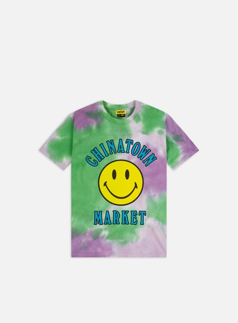 T-shirt a Manica Corta Chinatown Market Smiley Multi T-shirt