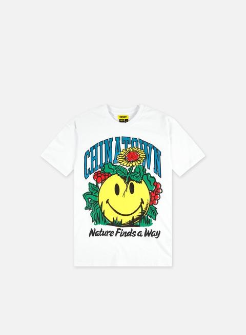 Short sleeve T-shirts Chinatown Market Smiley Planter T-Shirt