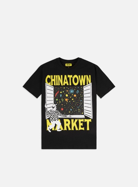 Short Sleeve T-shirts Chinatown Market Window T-shirt