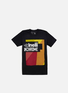 Chrome - Cinelli T-shirt, Black 1