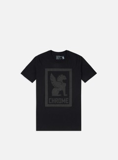 Chrome - Large Lock Up T-shirt, Black 1