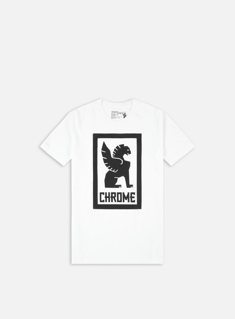 t shirt chrome large lock up t shirt white black