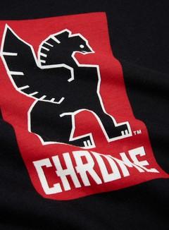 Chrome - Lock Up T-shirt, Black 2