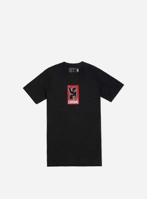 t shirt chrome lock up t shirt black