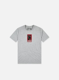 Chrome - Lock Up T-shirt, Heather Grey 1