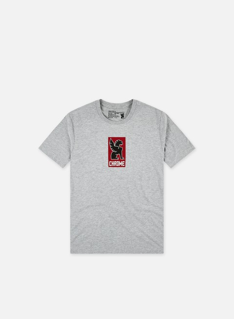 t shirt chrome lock up t shirt heather grey