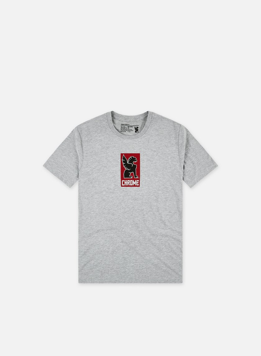 Chrome - Lock Up T-shirt, Heather Grey