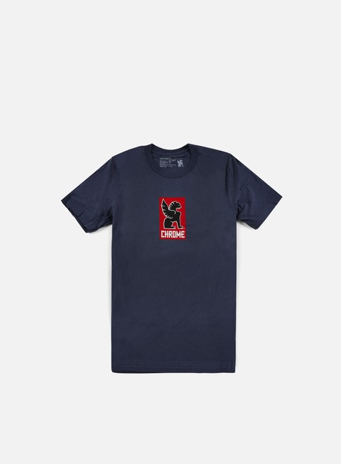 t shirt chrome lock up t shirt navy