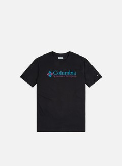 Columbia - CSC Basic Logo T-shirt, Black/CSC Brand Retro