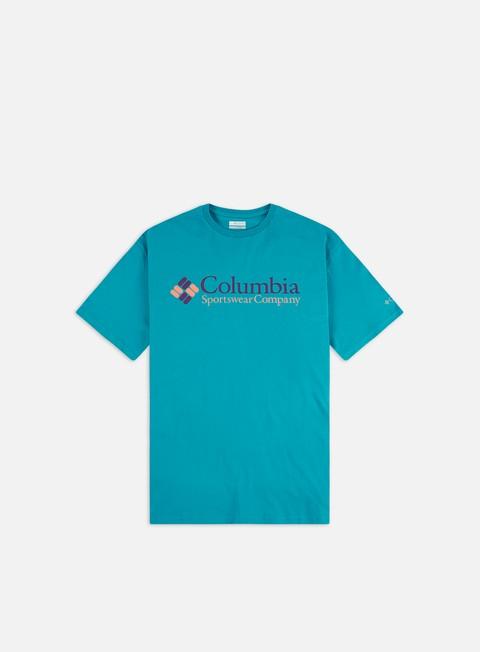 Outlet e Saldi T-shirt a Manica Corta Columbia CSC Basic Logo T-shirt