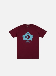 Converse - Burglar T-shirt, Dark Burgundy