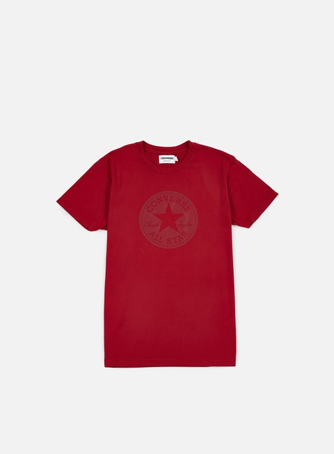 t shirt converse chuck taylor rubber t shirt red block