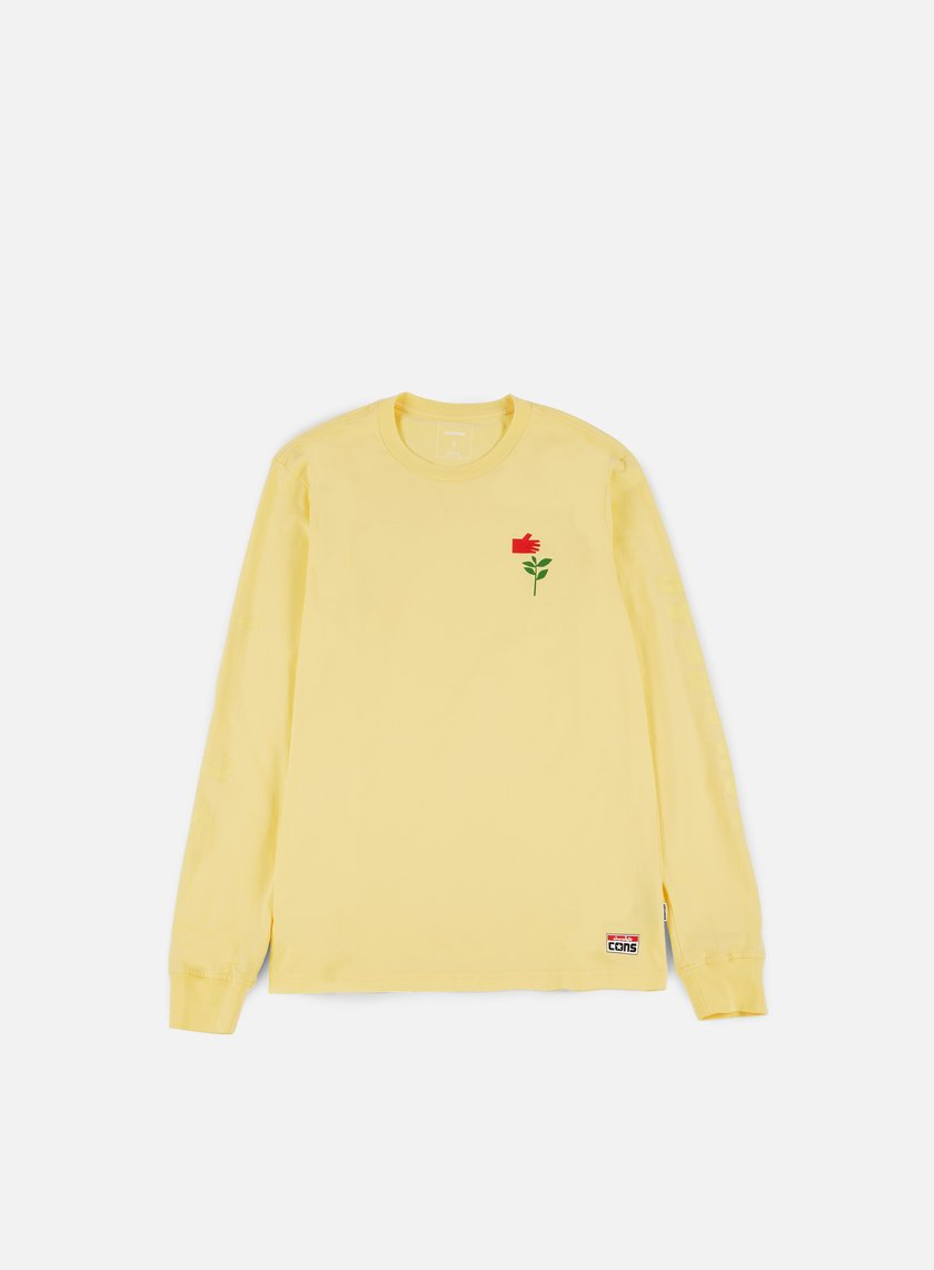 Converse - Cons Chocolate LS T-shirt, Yellow