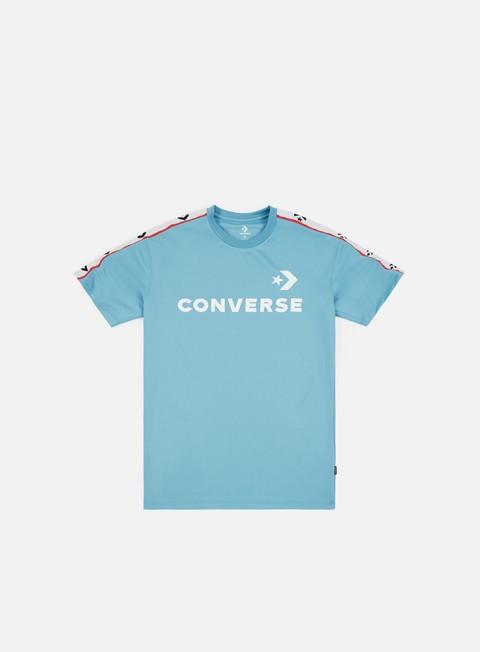 t shirt converse converse track t shirt shoreline blue