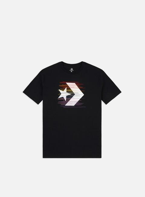 Short Sleeve T-shirts Converse Rainbow Thread Icon Remix T-shirt