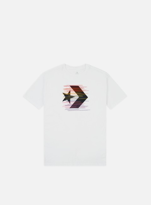 Outlet e Saldi T-shirt a Manica Corta Converse Rainbow Thread Icon Remix T-shirt