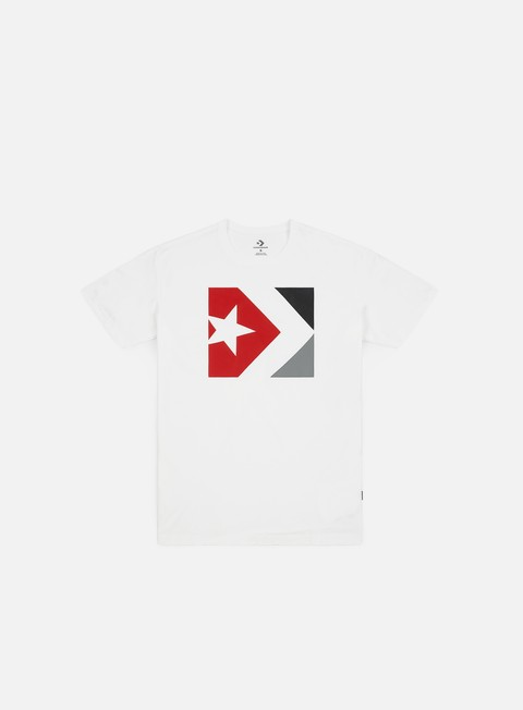 Outlet e Saldi T-shirt a Manica Corta Converse Star Chevron Box T-shirt