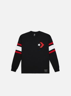 Converse - Star Chevron Football Jersey, Black