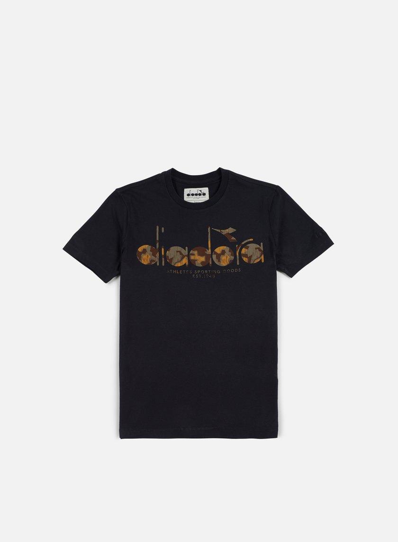 Diadora - BL T-shirt, Black/Camo