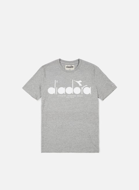 t shirt diadora bl t shirt light middle grey melange