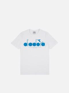 Diadora - BL T-shirt, Optical White/Mediterranean