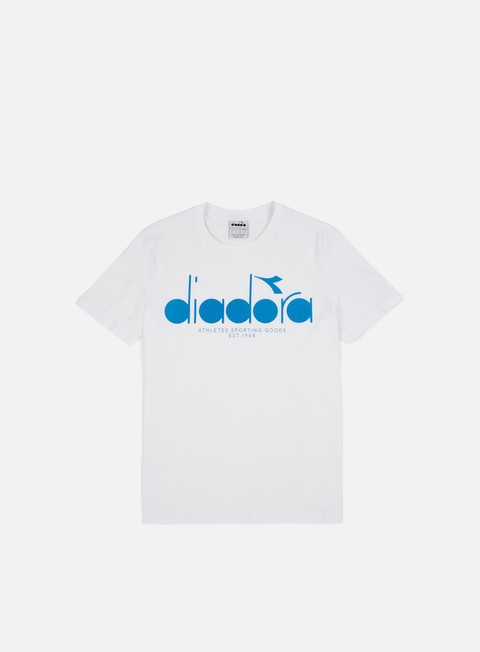 t shirt diadora bl t shirt optical white mediterranean