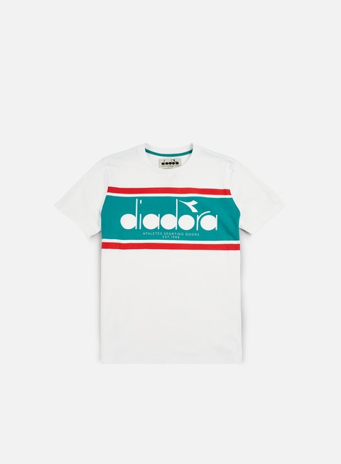 t shirt diadora bl t shirt white green ceramics