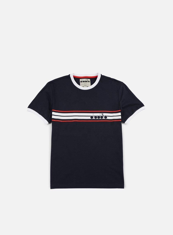 Diadora - JS T-shirt OG, Blu Corsair