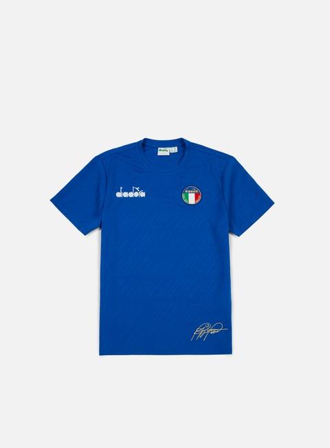 t shirt diadora roberto baggio signature t shirt olympian blue