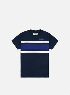 Diadora - SL T-shirt, Blue Denim/Navy
