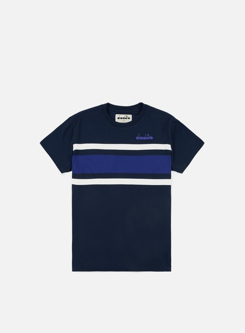 t shirt diadora sl t shirt blue denim navy