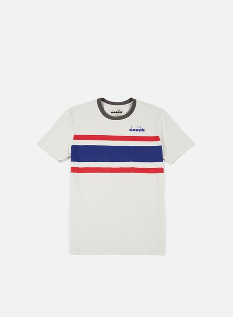 t shirt diadora sl t shirt grey red