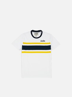 Diadora - SL T-shirt, White/Blue 1