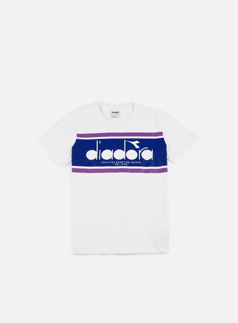 t shirt diadora spectra t shirt white navy