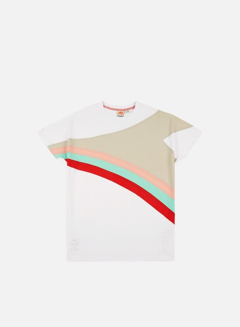 Outlet e Saldi T-shirt a Manica Corta Diadora Sundek Raimbow F&F T-shirt