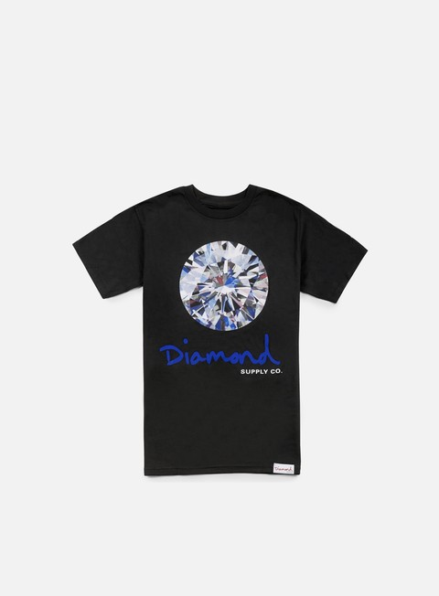 t shirt diamond supply brilliant t shirt black
