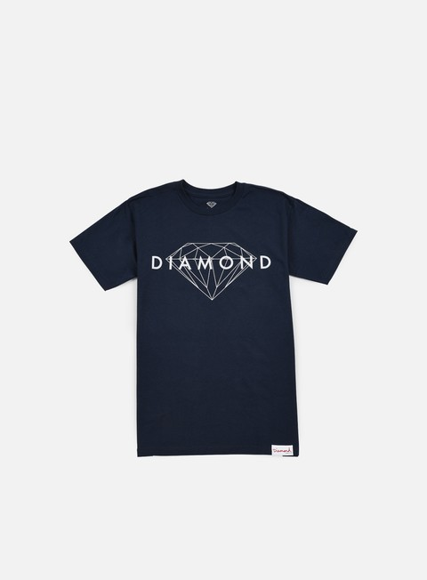 t shirt diamond supply brilliant t shirt navy