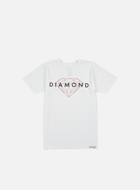 t shirt diamond supply brilliant t shirt white