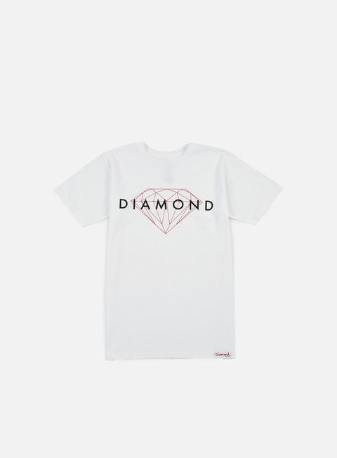 T-shirt a Manica Corta Diamond Supply Brilliant T-shirt