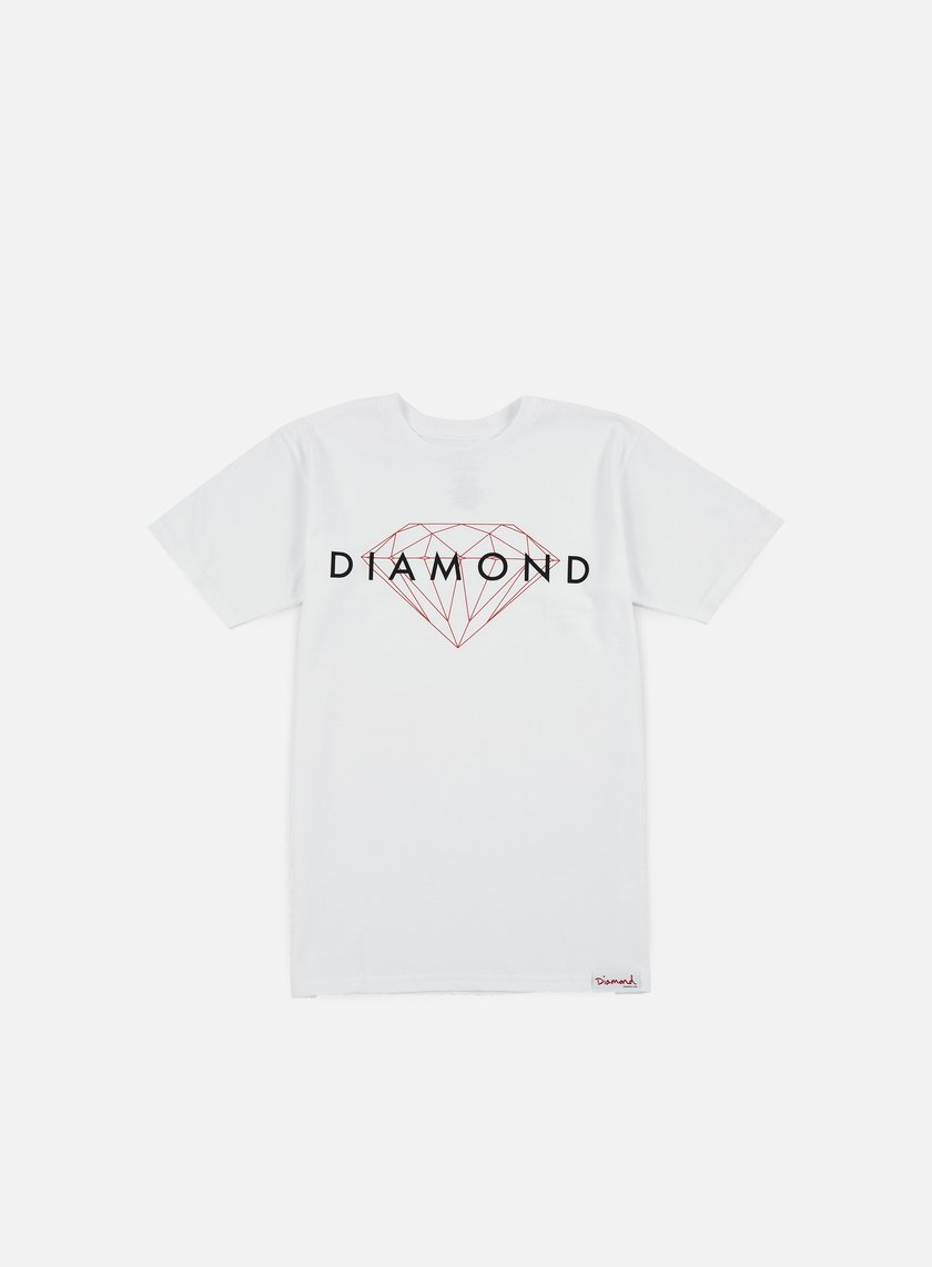 Diamond Supply - Brilliant T-shirt, White