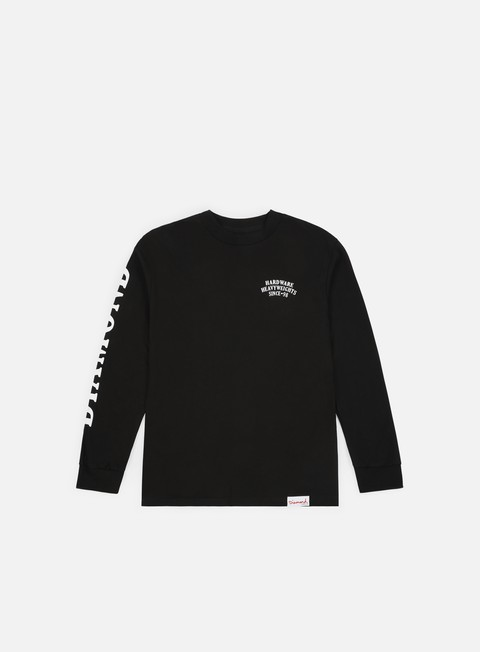 Long Sleeve T-shirts Diamond Supply Bulldogs LS T-shirt