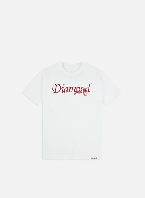 Outlet e Saldi T-shirt a Manica Corta Diamond Supply Cold Blooded T-shirt