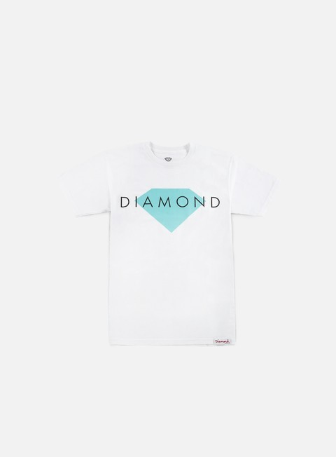 t shirt diamond supply diamond solid t shirt white