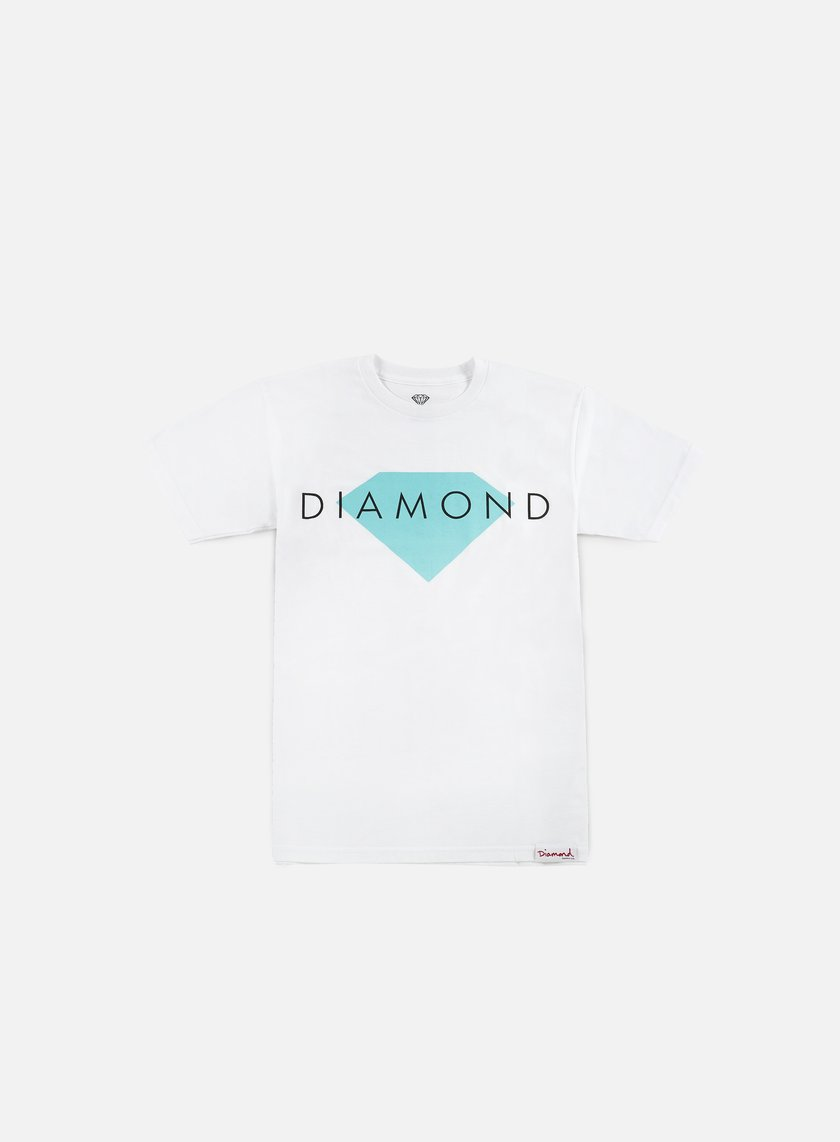 Diamond Supply - Diamond Solid T-shirt, White