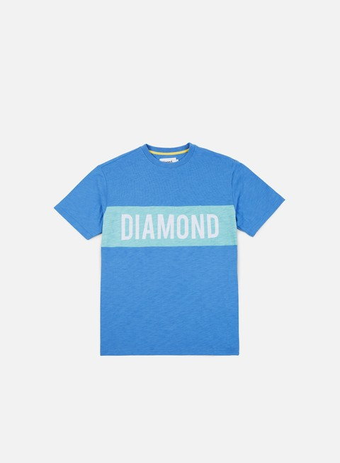 t shirt diamond supply elliot t shirt blue