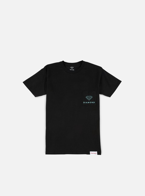 t shirt diamond supply futura sign pocket t shirt black