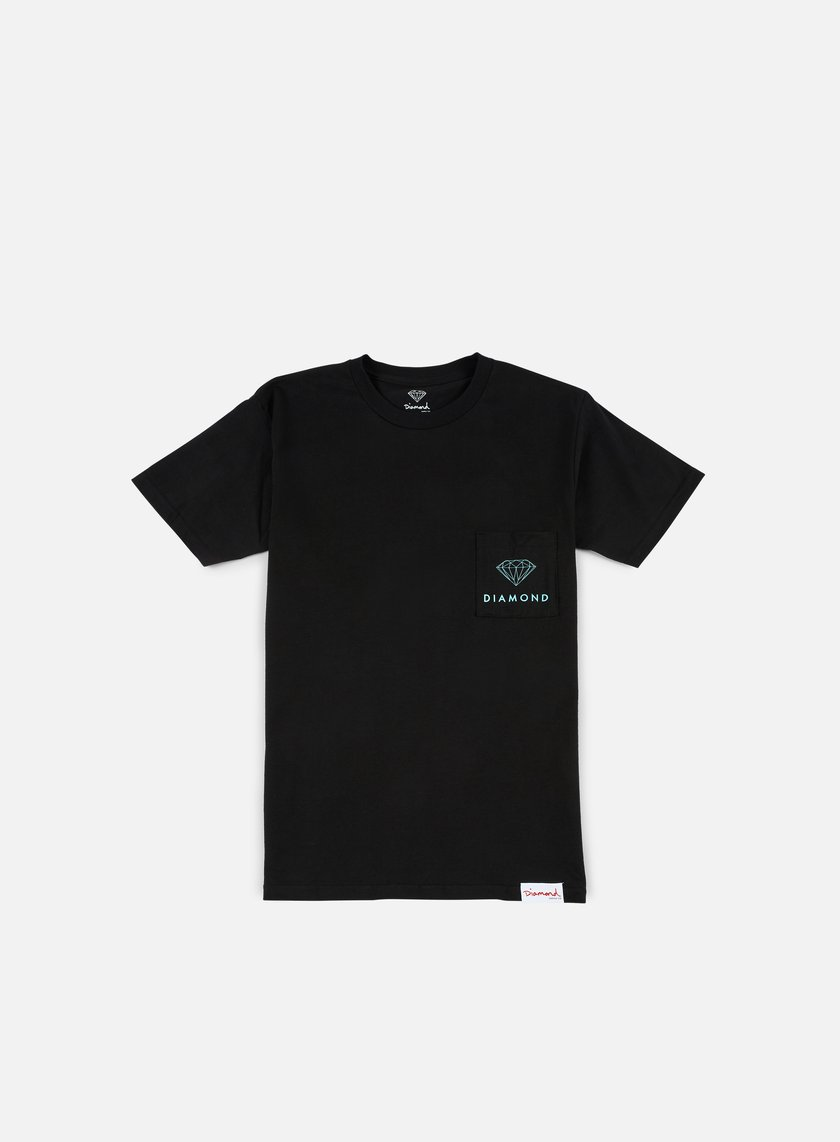 Diamond Supply - Futura Sign Pocket T-shirt, Black