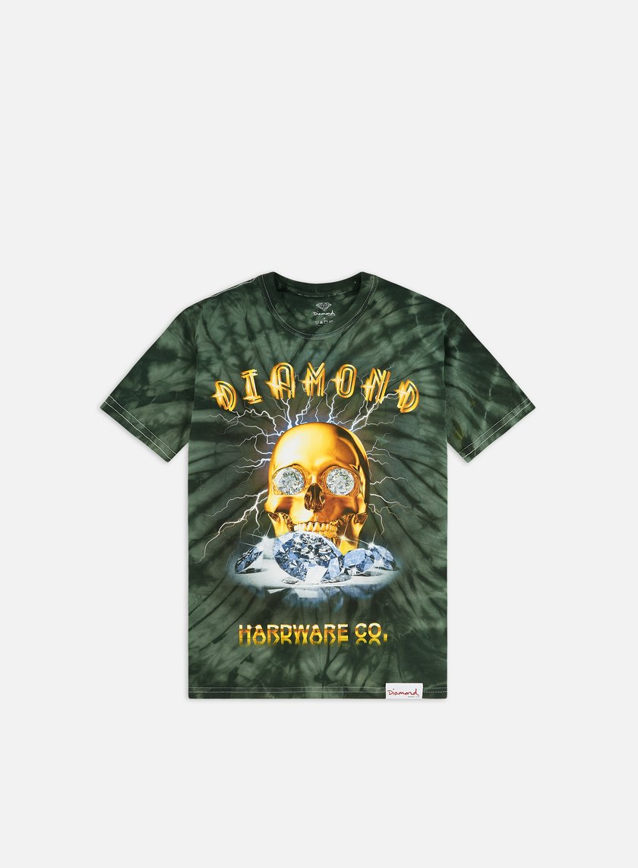 Diamond Supply Gold Skull T-shirt